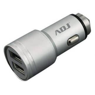 CARICA BATTERIA AUTO 2P USB ROCKESL 2.4A FULL POWER PER SMARTPHONE ADJ