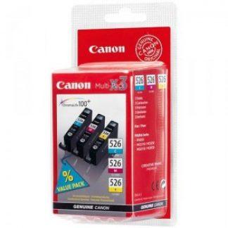 INK CANON CLI-526 MULTIPACK CIANO/ MAGENTA/GIALLO PIXMA 5150-6150-8150