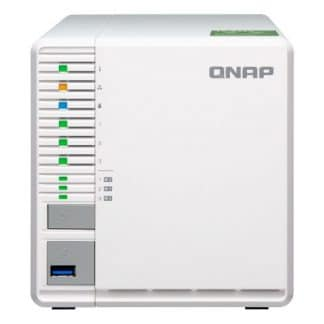 NAS QNAP 3BAY SSD/HDD SATA 6GB/S 2P LAN ETHERNET 10GIGABIT TOWER