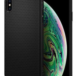 CUSTODIA IPHONE XS MAX LIQUID BLACK MATTE