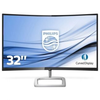 "MON 32"" LED MM CURVED VGA HDMI DP PHILIPS 328E9QJAB/00 GAMING"