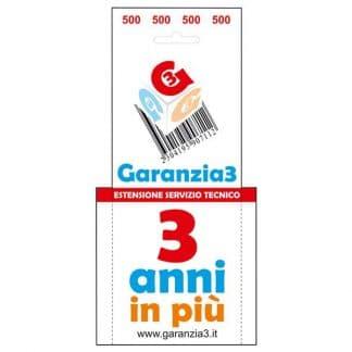 GARANZIA UNIVERSALE G3 MAX 500&#164 VIRTUALE -