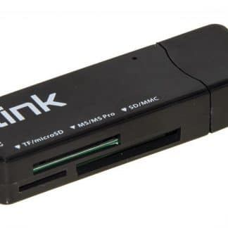 CARD READER ESTERNO USB 3.0 BK LINK MICRODSD/SD/MMC/MS/MSPRO/MSDUAL