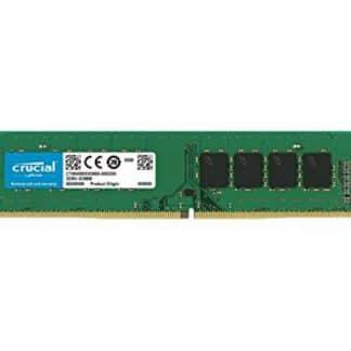 DDR4 8GB 2400 MHZ DIMM CRUCIAL CL17 SR
