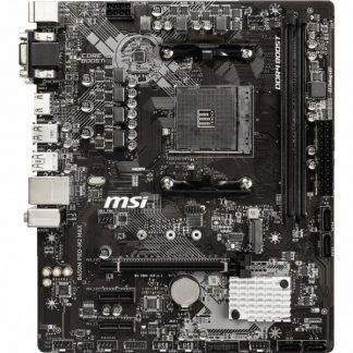 MB MSI B450M PRO-M2 MAX AM4 RYZEN9 2D4 4S3 M.2 GBLAN 6U3 PCIE D/H/V