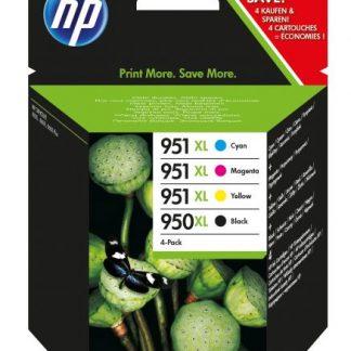 INK HP C2P43AE 950XL+951XL NERO+CLR