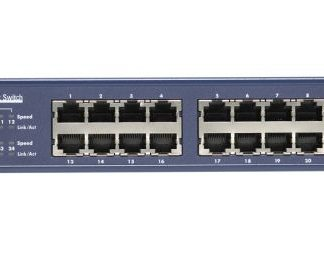 SWITCH 24P GIGABIT RACK MOUNTABLE