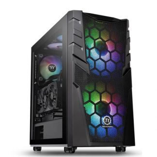 CASE MID-TOWER NO PSU COMMANDER C32 TG ARGB USB3*2 HDAUDIO VETRO TEMP