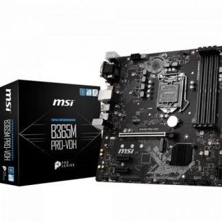MB MSI B365M PRO-VDH 1151 COFFEELAK 2D4 1M.2 6U3.1 6U2 6S3 HDMI/VGA/DVI