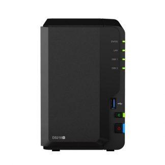 """NAS SYNOLOGY DS218+ 2HD 3.5""""/2.5"""" RAM 2GB 1P LAN RJ45"""