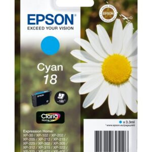 INK EPSON 18 CIANO PER EXPRESSION HOME XP30